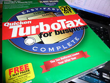 1999 TurboTax  BUSINESS factory New sealed CD of Turbo Tax! Free S/H