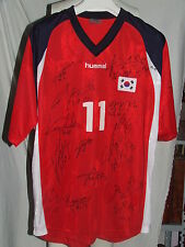 MAGLIA SHIRT PALLAVOLO VOLLEY SPORT MATCH WORN COREA DEL SUD SOUTH KOREA SIGNED