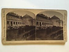 Stereoscopic Stereo View Card of Genoa    Ref029