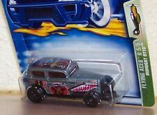 2002 Hot Wheels --Midnight Otto---Ford --Panel Truck--Flying Aces II