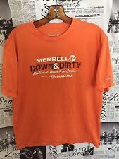 Merrell Opti-Wick Down & Dirty National Mud Run Series 2011 Men's Shirt M Medium