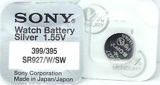 SONY 399 SR927W V399 D399 613 W 280-44 SB-BP/EP SR927W SR57 WATCH BATTERY