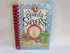 """1st Printing 2006 Gooseberry Patch """"Speedy Suppers"""" Hardcover Cookbook ~ New!"""