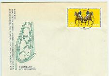 DDR FDC Ersttagsbrief 1979 Kongress für Pferdezucht Mi.Nr.2450