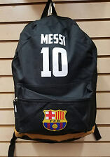 BARCELONA MESSI Soccer ADULT BackPack, 2016 Style LICENSED, 5 COMPARTMENTS, NEW