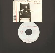 ALANIS MORISSETTE IRONIC 4 track CDSingle LIVE You Oughta Know Mary Jane All..
