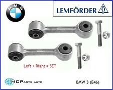 REAR ANTI ROLL BAR DROP LINK RODS LEMFORDER 2X LEFT RIGHT BMW 3 SERIES E46