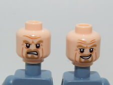 Lego Minifigure Head The Hobbit and The Lord of The Rings King Theoden H24