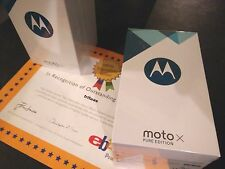 Motorola Moto X Pure Edition XT1575 32GB  Black US Version Unlocked GSM CDMA LTE