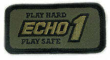 Echo 1 Airsoft Morale Patch Hook Back
