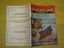 AVVENTURE DI DOMANI  EDIZIONI MONDIALI  NUMERO 47 DEL 5 DICEMBRE 1958