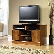 Panel TV Stand - Abbey Oak - Harvest Mill Collection (407432)