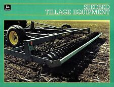 JOHN DEERE VINTAGE  SEEDBED  TILLAGE PREPARATION  EQUIPMENT  BROCHURE A-6-85-10