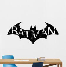 Batman Wall Decal Superhero Vinyl Sticker Kids Dark Knight Poster Mural 131crt
