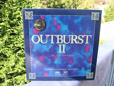 Vintage 1991 OUTBURST II Game of Verbal Explosions~New & Factory Sealed!