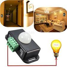 Automatica Mini Infrarosso PIR Movimento Sensore Interruttore Per LED Luce Nuovo