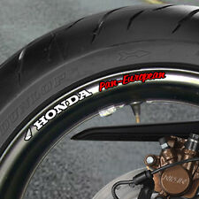 8 x PAN-EUROPEAN Wheel Rim Stickers ST1100 1300 ST b