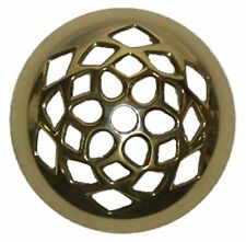 Stained Glass Lamp Supplies 4 Inch Cast Brass Vented Vase Cap Heavy Duty