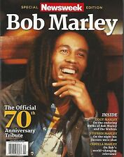Newsweek Magazine Bob Marley Special Edition Official 70th Anniversary Tribute
