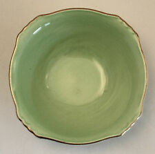 ROYAL WINTON Grimwades PASTEL WARE GREEN Ascot Cereal Bowl Square 6.25""