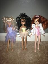 "Barbie Mattel Wee 3 Three Friends 10"" Doll Lot of 3 Stacie Janet Lila w/Outfits"