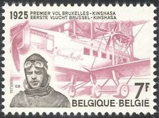 Belgium 1975 Plane/Aircraft/Pilot/Aviation/Aircraft/Flight/Transport 1v (n33825)