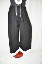 MYO°Lagenlook ° raffiné Marlène pantalon°TALONS AIGUILLES°noir-blanc°EG° 46,48,