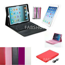 WIRELESS BLUETOOTH KEYBOARD LEATHER CASE COVER FOR IPAD AIR/MINI IPAD PRO 9.7""