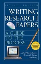 Writing Research Papers with 2009 MLA and 2010 Updates: A Guide to the Process