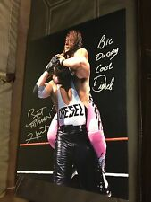 Bret Hart and Kevin Nash Diesel Autographed WWF WWE 16x20 Photo