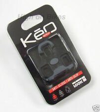 tacchette  Look Keo Grip Road Bike Clipless Pedal Cleats BLACK NEW GIOCO 0°