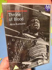 Throne Of Blood-Akira Kurosawa(R2 DVD)BFI New+Sealed Macbeth Toshiro Mifune 1957