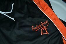 Bowling Green BGSU Falcons Mens Large Tear Away Polyester Athletic Pants Nice