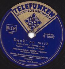 Jazz-Harmonika  Albert Vossen : Drunter und drüber + Denk an mich