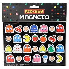 Pac-Man Fridge Magnets, Set of 28