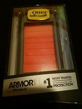 Otterbox Armor Series Waterproof Phone Case For Apple iPhone 5/5S/SE Gray-Orange