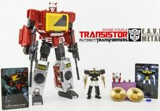 Transformers KFC TOYS Clockwork Transistor recorder with the of plastic