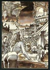 """Milo Manara :  cartolina della serie """" I Personaggi """" - n. 1812"""