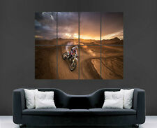 MOTOCROSS SPORT SPEED RACE EXTREME SPORT WALL  IMAGE POSTER ART PRINT LARGE