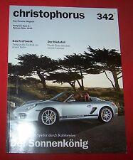 Porsche Magazin Christophorus Nr 342 - 2010 , TOP
