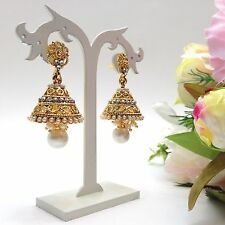 -indian-bridal-costume-jewellery-party-ethnic-wear-jhumka-earrings-length2inch