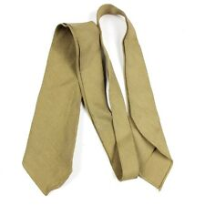 WWII US ARMY / USAAF OFFICERS KHAKI TAN WOOL DRESS UNIFORM NECK TIE NECKTIE AAF