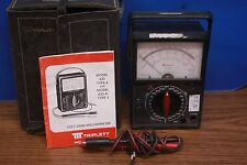 Vintage Triplett Model 6A Multimeter W/ Case And Manual