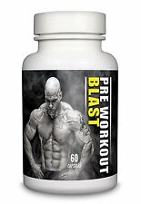 Pre Workout Blast Creatine 500mg by Natural Answers - High Strength 60 Capsules