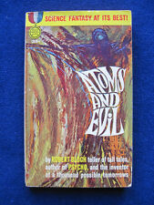 Atoms & Evil SIGNED by the Author ROBERT BLOCH