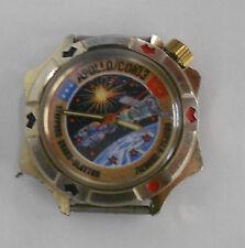 Vintage Soviet 2214 Vostok Komandirskie watch. Apollo-Soyuz space dial.