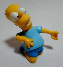 TCFFC THE SIMPSONS VTG 1990 BART SIMPSON PLAYING AIR GUITAR 2'' PVC FIGURE