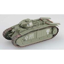 MRC EASY MODEL 1/72 36157  WWII FRENCH CHAR B1 AUG'44 PARIS GERMAN FLAMMPZRWFR
