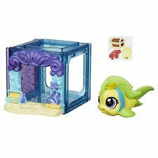 Littlest Pet Shop Mini Estilo Set con #4023 figuras de peces Flippa splashley (B2894)