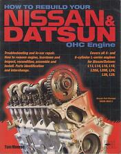 DATSUN 200SX 240Z 260Z 280Z 280ZX PICK-UP '69-83 4 & 6 CYL ENGINE REBUILD MANUAL